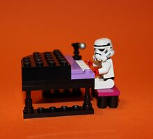 Stormtrooper plays piano by Kirk Arts
