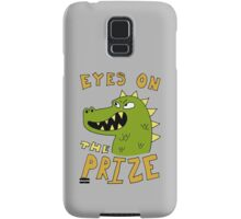 Eyes on the prize dinosaur Samsung Galaxy Case/Skin