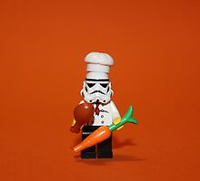 Stormtrooper Cook'ing by Kirk Arts