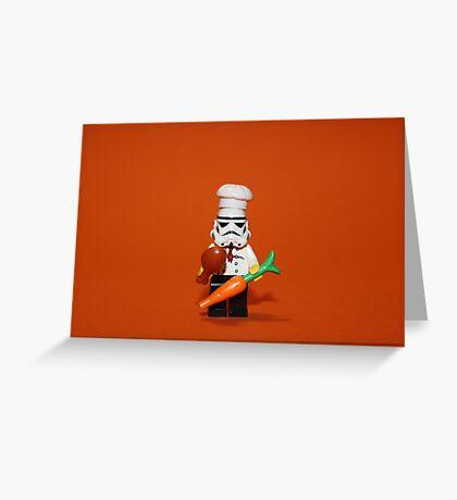 Stormtrooper Cook'ing Greeting Card
