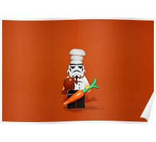 Stormtrooper Cook'ing Poster