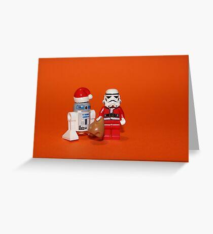 Stormtrooper Santa Greeting Card