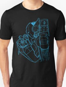Robot N Rose Sketch T-Shirt