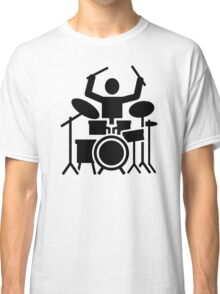 Drums drummer Classic T-Shirt