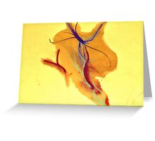Veins on Paper Greeting Card