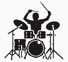 Band drummer Kids Clothes
