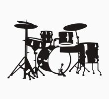Drums Kids Tee