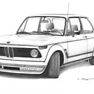 BMW 2002 Turbo (1972) by Steve Pearcy