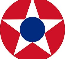 Roundel of the Costa Rican Military Air Force, 1947-1949 by abbeyz71
