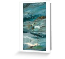 Island in the gorge Greeting Card