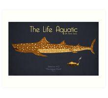 The Life Aquatic - Jaguar Shark Art Print