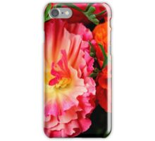 Colours & Flowers Speak all Languages iPhone Case/Skin