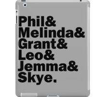 We are Agents of S.H.I.E.L.D. iPad Case/Skin