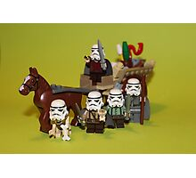 The Hobbit stormtroopers Photographic Print