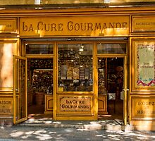 Confectioner's shop, Aix-en-Provence by Mark Bangert