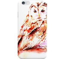 Strix aluco iPhone Case/Skin