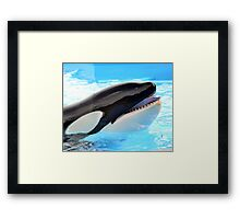 Eyelashes  Framed Print
