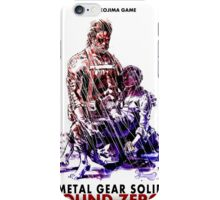 Ground Zeroes Poster iPhone Case/Skin
