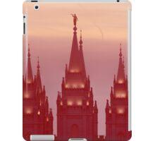Salt Lake Temple Spires iPad Case/Skin