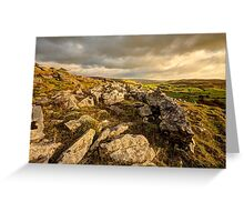 Norber Erratics (HDR) Greeting Card