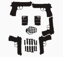 War Skull T-Shirt