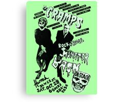 The Cramps - Concert Poster Canvas Print