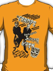 The Cramps - Concert Poster T-Shirt