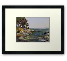 Oyster Bay Late July Framed Print