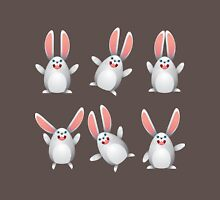 White egg bunny Unisex T-Shirt