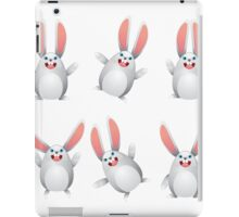 White egg bunny iPad Case/Skin
