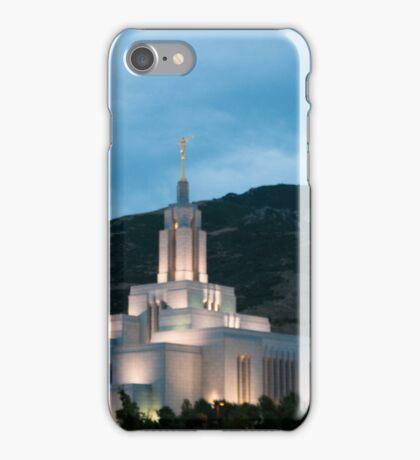 Draper LDS Temple iPhone Case/Skin