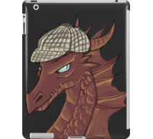 The Hobbit Smaug, Sherlock crossover iPad Case/Skin