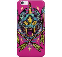 Cat Beast  iPhone Case/Skin