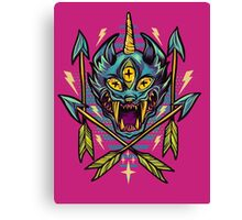 Cat Beast  Canvas Print