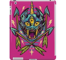 Cat Beast  iPad Case/Skin