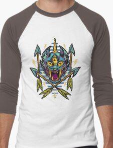 Cat Beast  Men's Baseball ¾ T-Shirt