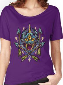 Cat Beast  Women's Relaxed Fit T-Shirt