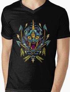 Cat Beast  Mens V-Neck T-Shirt