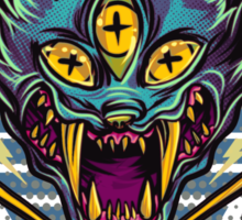 Cat Beast  Sticker