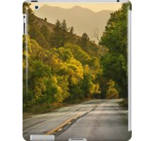 Driving in Ogden Canyon iPad Case/Skin