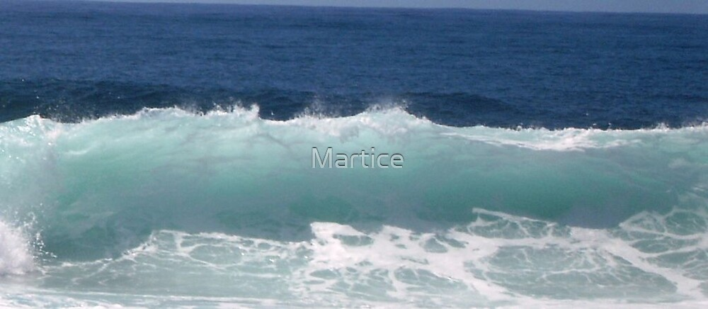 Blue Wave by Martice