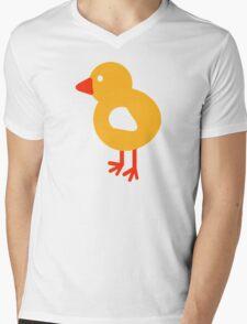 Biddy bird chick Mens V-Neck T-Shirt
