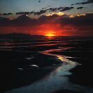 Great Salt Lake Sunset by Ryan Houston