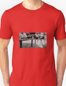 wooden fence Unisex T-Shirt