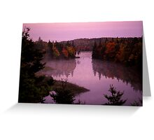 Vanished Landscape Greeting Card