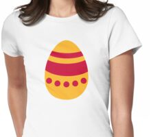 Colored Easter egg Womens Fitted T-Shirt