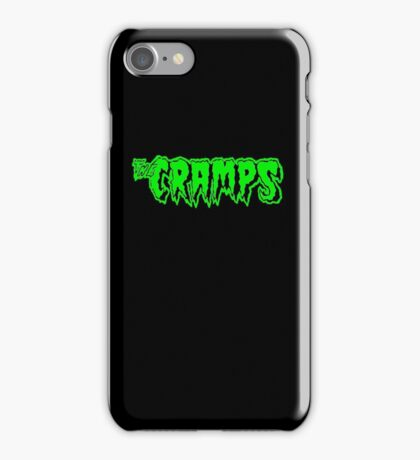 The Cramps (green) iPhone Case/Skin
