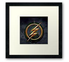 Arrow Flash Crossover Framed Print