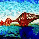 Cantilever Railway Bridge - Forth Bridge, Scotland - all products by Dennis Melling