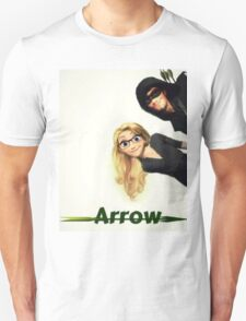 Olicity Tangled Arrow Crossover T-Shirt